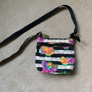 Betsey Johnson floral crossbody purse